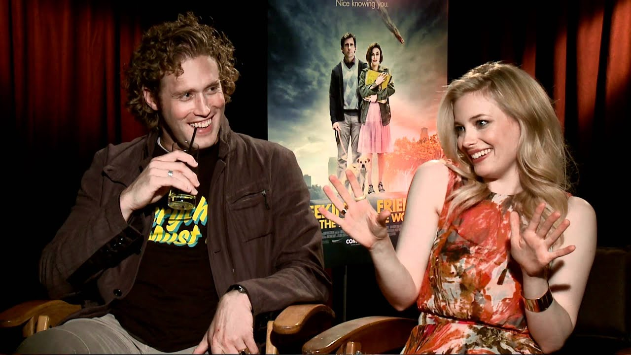 Photo of T.J. Miller & his friend  Gillian Jacobs