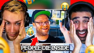SIDEMEN REACT TO PEOPLE DYING INSIDE