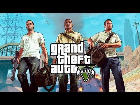 Grand Theft Auto V - O FILME COMPLETO PT-BR