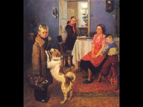 """Решётников Ф.П. и его картина """"Опять двойка"""""""