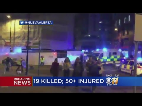 19 Dead, 50 Injured After Reported Explosion At Manchester Arena