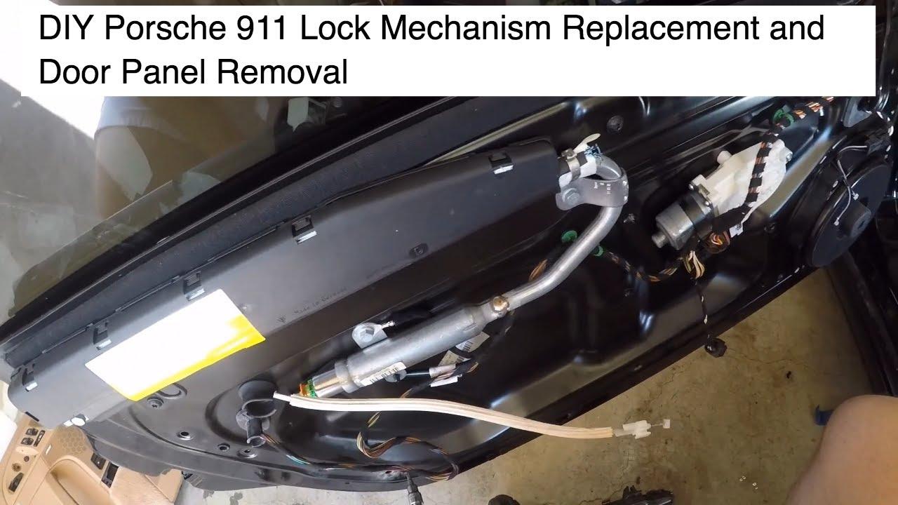Porsche 911 Carrera 997 2 Lock Mechanism Replacement
