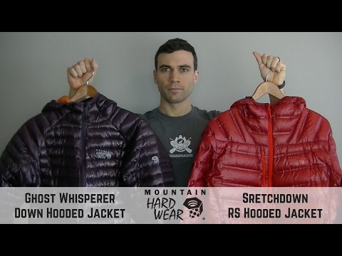 Mountain Hardwear Down Hooded Jacket - Comparison Review