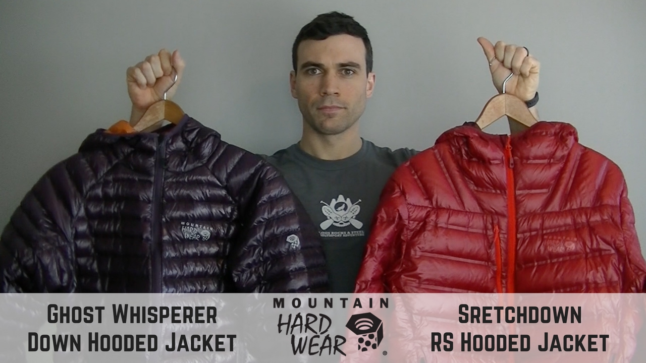 Mountain Hardwear Down Hooded Jacket Comparison Review