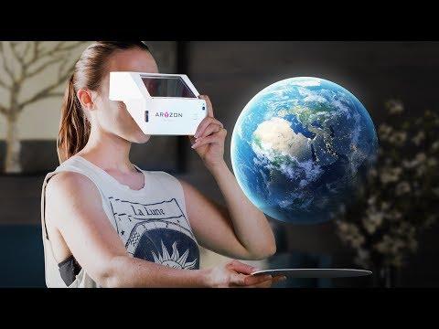 Cardboard Augmented Reality Headset - Aryzon DIY Kit