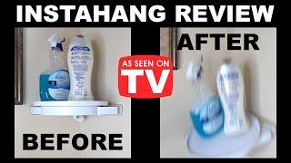 Instahang Review: As Seen on TV Rotating Corner Shelf