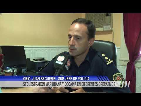 Secuestro de cocaína, dinero y demás elementos en un allanamiento