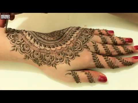 Mehndi Designs For Hands Book