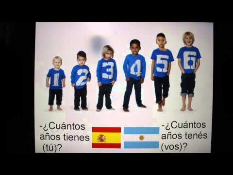 Differences in Spanish Language between Argentina and Spain