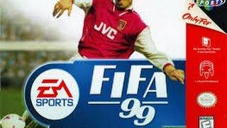 FIFA 99 Nintendo 64 (Game Play)