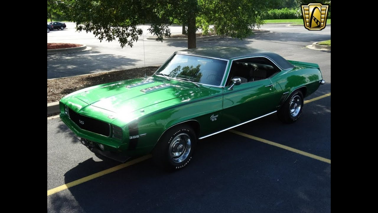 1969 396 camaro for sale at gateway classic cars stl youtube - Classic car pics ...