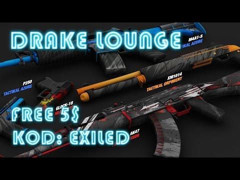 Drake Lounge - Darmowe 5$! | RIP CSGO Lounge ? | KOD:EXILED
