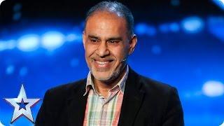 Irshad Shaikh is the world's worst impressionist   Auditions Week 4   Britain's Got Talent 2017