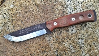 Excellent Bushcraft Knife | Fieldcraft by B.O.B. and TOPS Knives