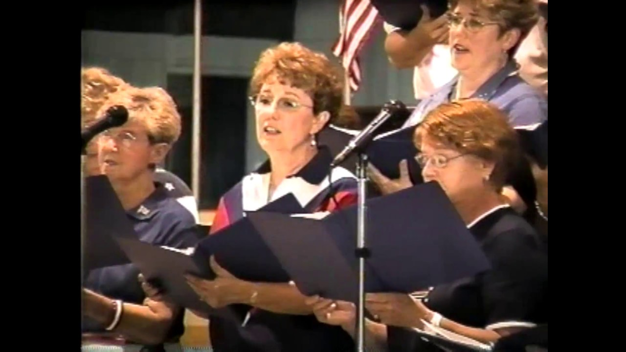 Rouses Point Community Choir  6-28-02