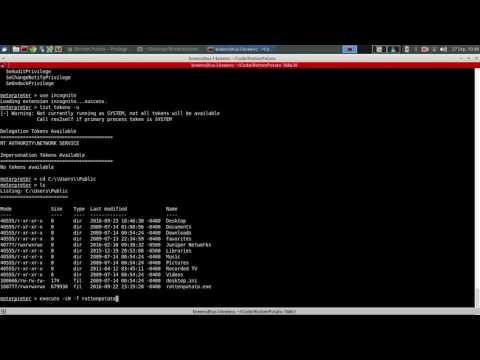 Rotten Potato - Windows 7 - from NETWORK SERVICE account