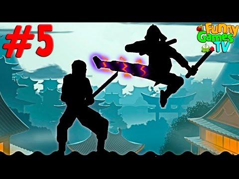 Новый     бои с тенью игра Shadow Fight 2 от Funny Games TV