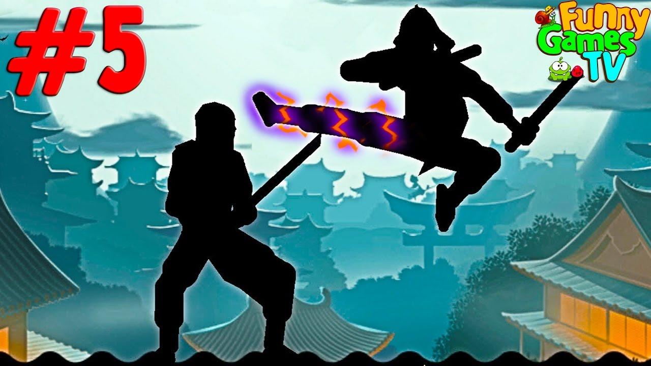 Новый мультик для детей бои с тенью игра Shadow Fight 2 от Funny Games TV