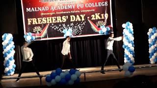 Freshers Day Dance Performance || Group Dance || Dance Choreography || SNEHAN DEEKSHU