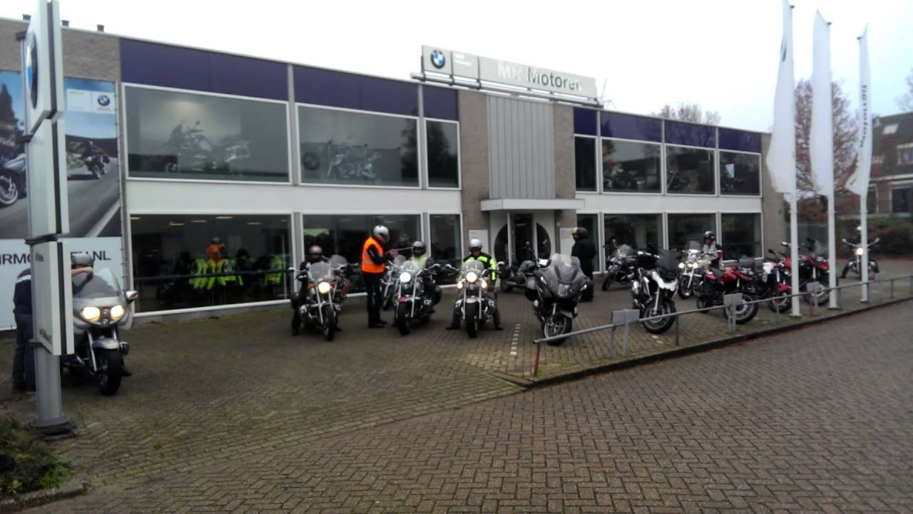 Bmw Garage Rotterdam : Bmw cruiser club start toertocht vanaf mr motoren youtube