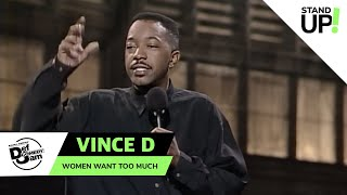 Vince D Knows It's Hard To Please A Woman   Def Comedy Jam   Laugh Out Loud Network
