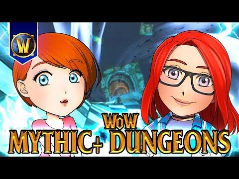 World of Warcraft Mythic+ Dungeons - with Kiyeberries & Starbee