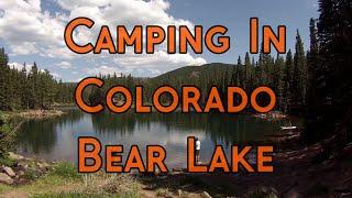Colorado Camping - Bear Lake Campground