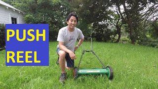 Scotts Classic Push Reel Lawn Mower, Organic Lawncare