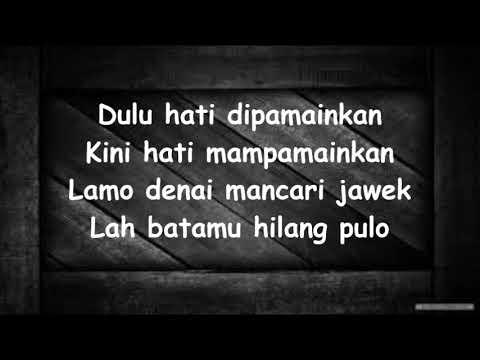 Ratu Sikumbang - Maulang Sayang Lyrics