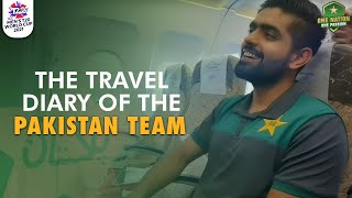 The travel diary of the Pakistan Team 🧳Lahore 🛫🛬 Dubai #WeHaveWeWill | #T20WorldCup
