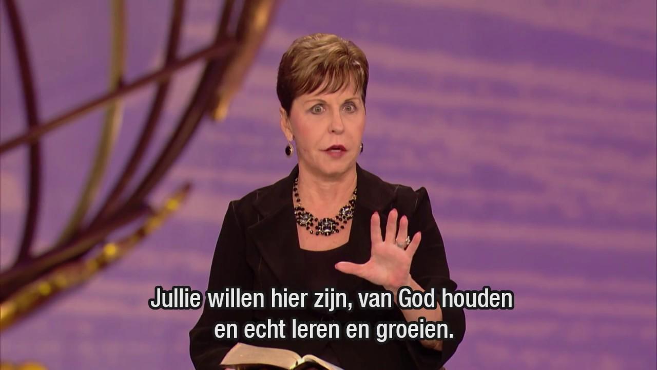 Tests die groei bevorderen (1) – Joyce Meyer – God ontmoeten