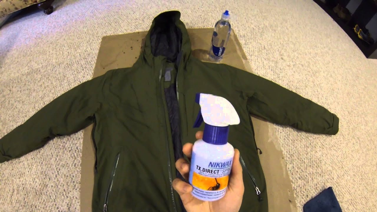4df7cb011 Backpacking Tips: Reapplying A DWR Coating