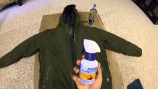Backpacking Tips: Reapplying A DWR Coating