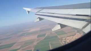 Aterrizaje en Mexicali, Mexico/Approach and landing in Mexicali, Mexico