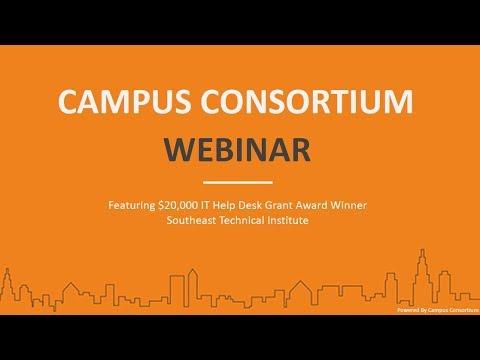 Campus Consortium Webinar Featuring $ 20,000 Grant Award Winner Southeast Technical Institute