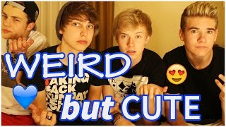 WEIRD but CUTE things girls do   ft.  Reed Deming,  Devin Hayes