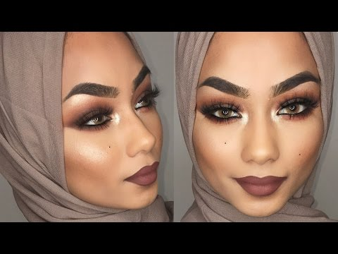 Brown smokey eye makeup tutorial | Sabina Hannan