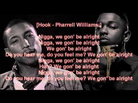 Kendrick lamar - Alright ( Lyric video / cover )