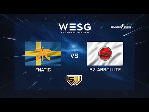 Fnatic vs SZ Absolute - de_mirage - WESG 2018 - Group Stage