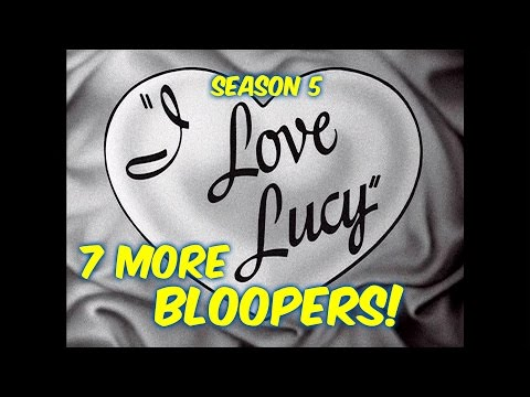 "7 ""I Love Lucy"" Bloopers You PROBABLY Did NOT Notice!!--Season 5"