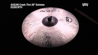 "Crash Thin 20"" Extreme Video"