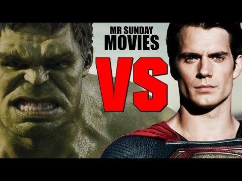 SUPERMAN VS. THE HULK - Who Would Win?