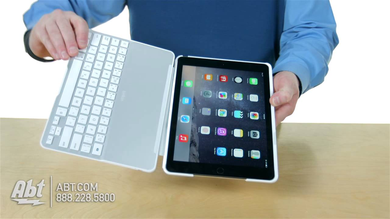 Belkin QODE Ultimate Keyboard Case For IPad Air FLTT Overview - Abt ipad