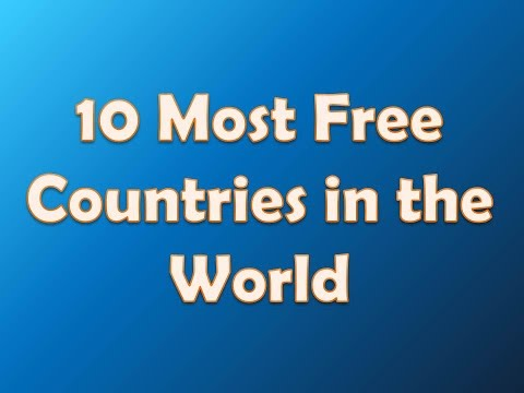 10 countries with the most personal freedom 2014