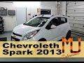 Chevrolet Spark 2013, Cómo remover los espejos