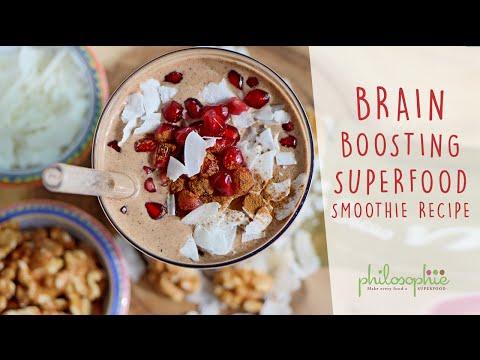 Brain Boosting Superfood Smoothie Recipe