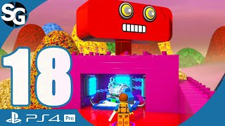The LEGO Movie 2 Videogame Walkthrough Gameplay (No Commentary) | The Crane - Part 18