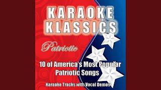 God Bless the USA (Karaoke Accompaniment Track)