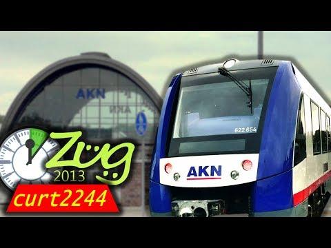 AKN: Altona Kaltenkirchen Neumünster Eisenbahn AG | mit BR622, VTA | Express-Doku