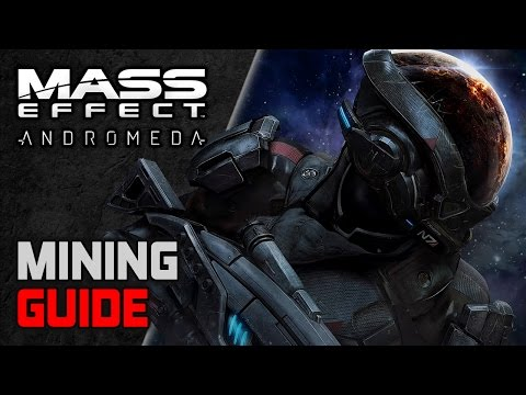 Mass Effect Andromeda BEGINNERS Guide ► MINING MINERALS (Where and How to get Crafting Materials)